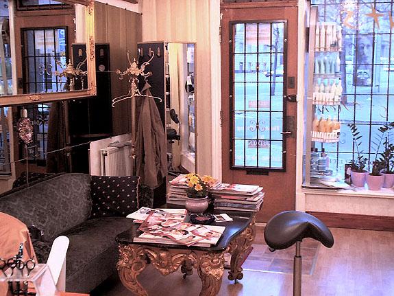 Интерьер салонов парикмахерских фото